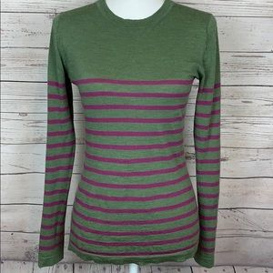 Patagonia Merino Wool Striped Sweater Pullover